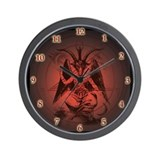 Unique Satanism Wall Clock