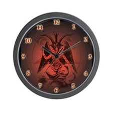 Cute Satan Wall Clock