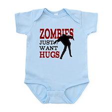 Zombies Just Want Hugs Onesie
