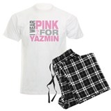 I wear pink for Yazmin pajamas