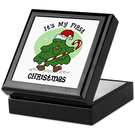 1st Christmas Tree Keepsake Box