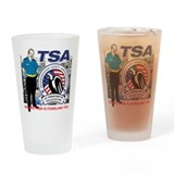 TSA Parody Drinking Glass