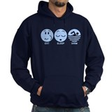 Eat Sleep Swim Hoody