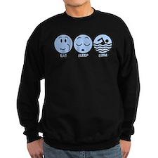 Eat Sleep Swim Sweatshirt