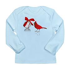 Baseball Christmas Long Sleeve Infant T-Shirt