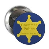 "Grammar Police 2.25"" Button"