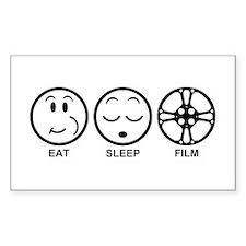 Eat Sleep Film Decal