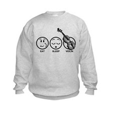 Eat Sleep Violin Sweatshirt