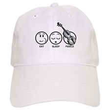 Eat Sleep Fiddle Baseball Cap