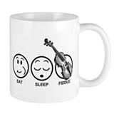 Eat Sleep Fiddle Mug
