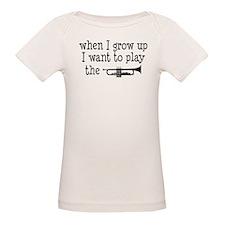 Future Trumpet Player Kids Organic Baby T-Shirt