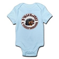 Faithful Rotty Infant Bodysuit