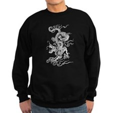 White Dragon Master Sweatshirt