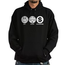 Eat Sleep Accounting Hoodie