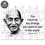 Gandhi - Be the Change Puzzle