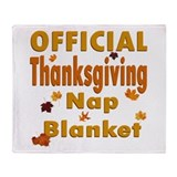 Thanksgiving Nap Throw Blanket