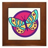 Butterfly205 Framed Tile