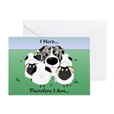 Aussie - I Herd... Greeting Card
