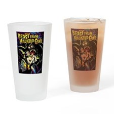 Beast From Haunted Cave Drinking Glass