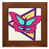 Butterfly207 Framed Tile