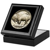 Buffalo Nickel Keepsake Box
