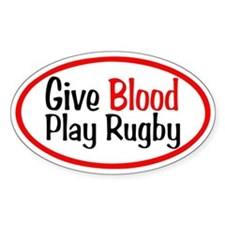 Play Rugby Decal