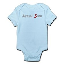 Actual Size Infant Bodysuit