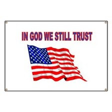 GOD BLESS AMERICA Banner