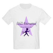 """""""Still (rear facing/harnessed Kids T-Shirt"""