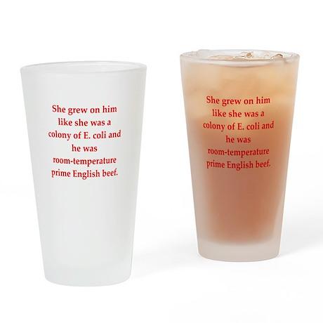 funny biology joke Drinking Glass