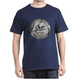 USN Navy Seabees Can Do Metal T-Shirt
