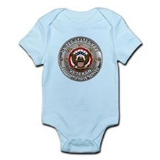 USN Navy Veteran Proud Eagle Infant Bodysuit