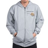 Everything's Better Deep Frie Zip Hoody