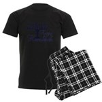 Happy Hanukkah Men's Dark Pajamas
