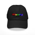 Gay Pride Black Cap