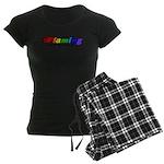 Gay Pride Women's Dark Pajamas