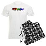 Gay Pride Men's Light Pajamas