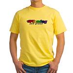 Gay Pride Yellow T-Shirt