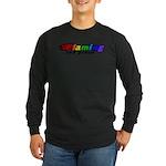 Gay Pride Long Sleeve Dark T-Shirt