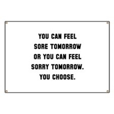 Sore Or Sorry Banner