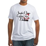 Trippin Santa Fitted T-Shirt