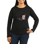 Trippin Santa Women's Long Sleeve Dark T-Shirt