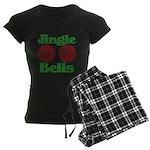 Jingle BOOBS Women's Dark Pajamas