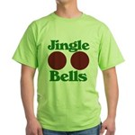 Jingle BOOBS Green T-Shirt