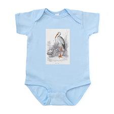 White Stork Bird Infant Creeper
