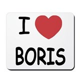 I heart boris Mousepad