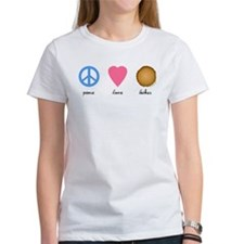 Peace Love Latkes Tee