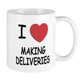 I heart making deliveries Mug