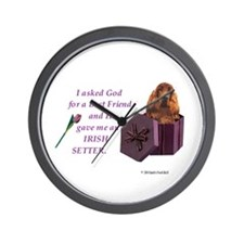 Cute Pooch Wall Clock