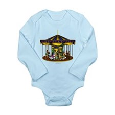 The Golden Carousel Long Sleeve Infant Bodysuit